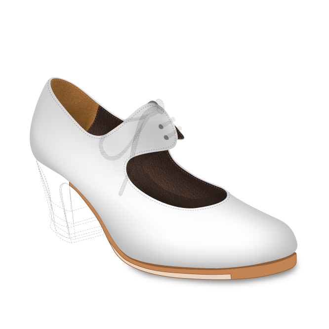 Configura y compra online tus zapatos de baile flamenco en ArteFyL
