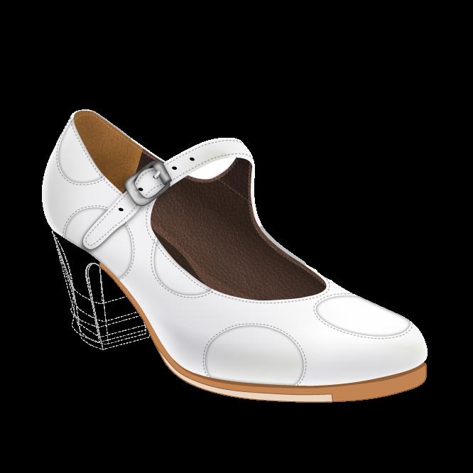 Configura y compra online tus zapatos para baile flamenco en ArteFyL
