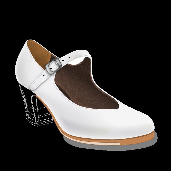 Pico zapatos flamencos hecho a mano por ArteFyL