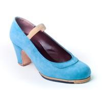 Modelo Amaya, zapatos artesanales para baile flamenco ArteFyL