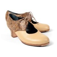 Modelo Montoya, Zapatos Flamencos Artesanos ArteFyL