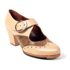 Modelo Fátima de Zapatos Flamencos Artesanos ArteFyL