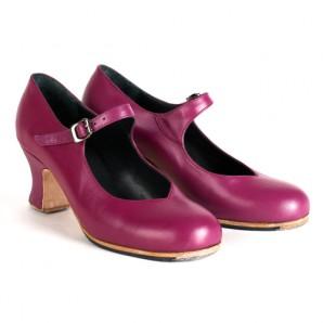Pico zapatos para baile flamenco profesional