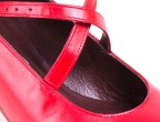 Detalle tirantes zapatos para baile flamenco profesional