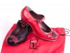 Combinaciones negro-rojo y bolsa ArteFyL