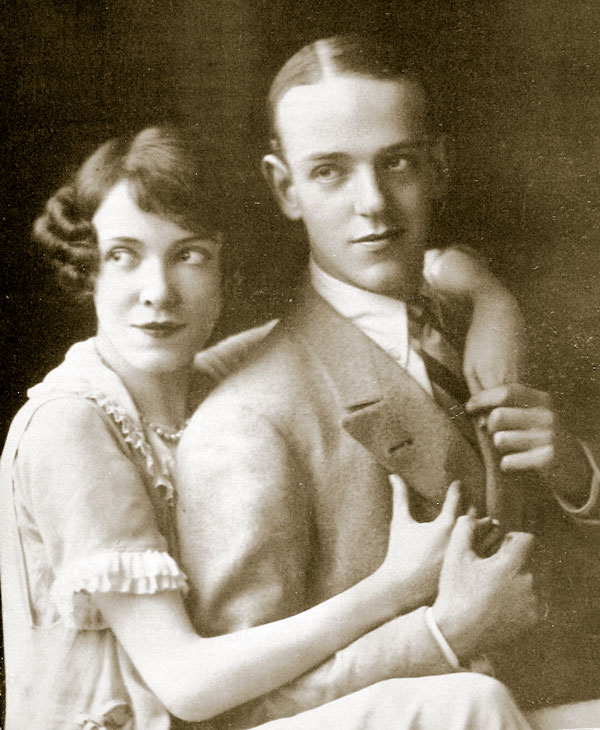 Fred and Adele Astaire in 1919
