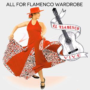 Flamenco costumes and complements at El Flamenco Vive